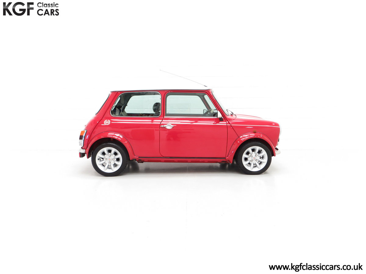 2000 A Rover Mini Cooper with Factory Sport Pack, 992 Miles SOLD (picture 14 of 24)