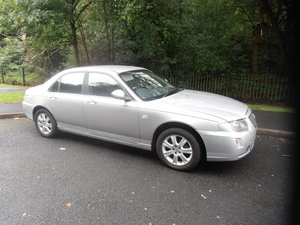 2005 Rover 75 TD MANUAL SILVER BLACK LEATHER