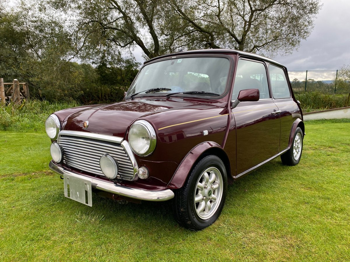 1999 ROVER MINI RARE AUTOMATIC 40TH ANNIVERSARY EDITION MULBERRY For Sale (picture 1 of 6)