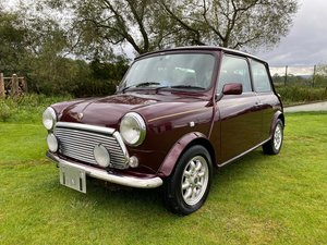 Picture of 1999 ROVER MINI RARE AUTOMATIC 40TH ANNIVERSARY EDITION MULBERRY For Sale
