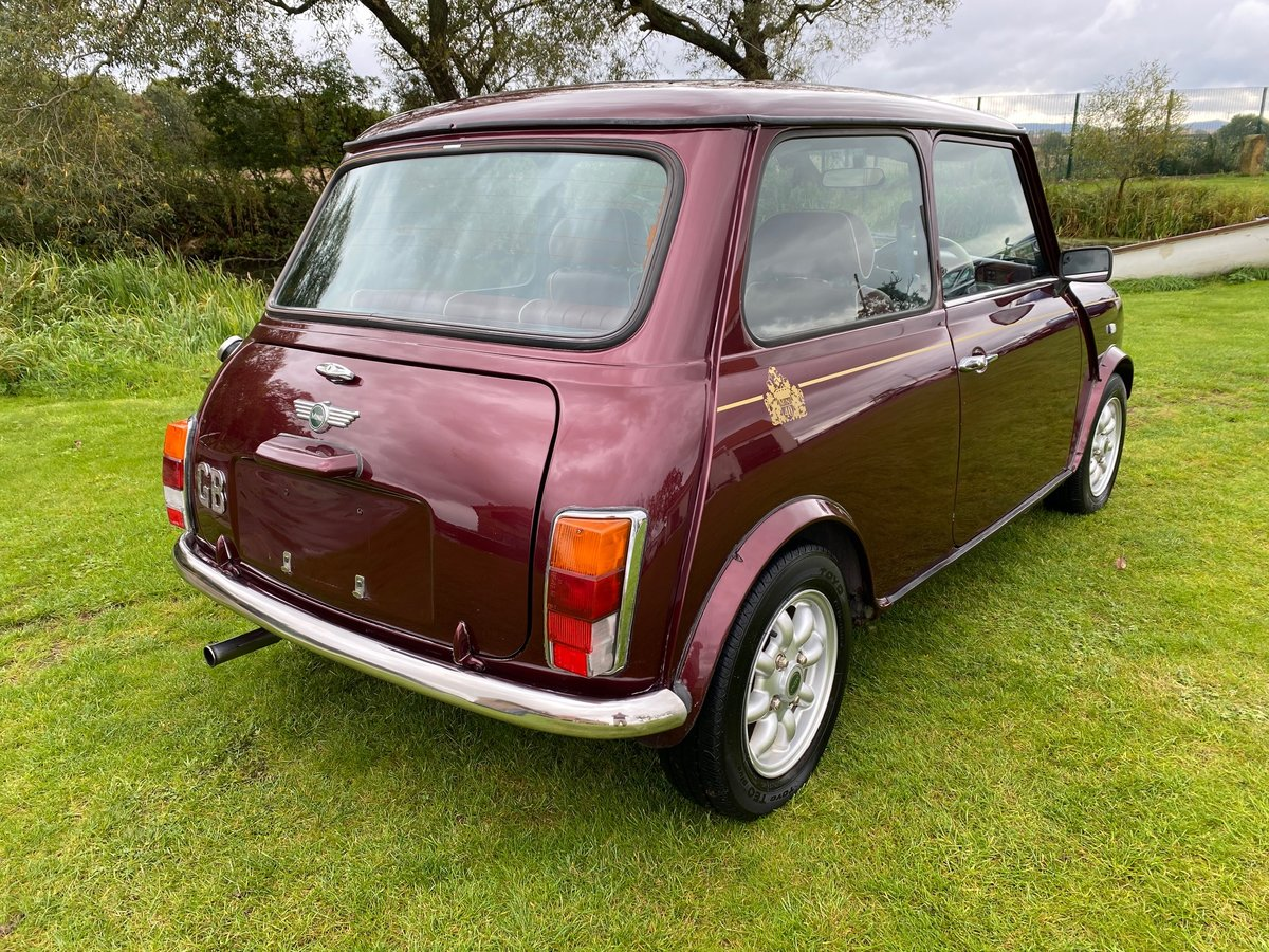 1999 ROVER MINI RARE AUTOMATIC 40TH ANNIVERSARY EDITION MULBERRY For Sale (picture 2 of 6)