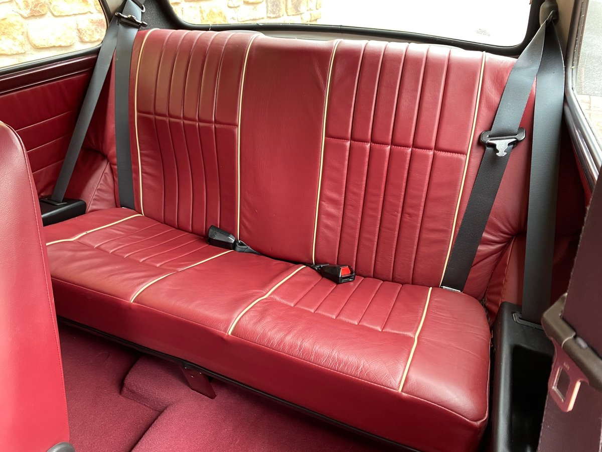 1999 ROVER MINI RARE AUTOMATIC 40TH ANNIVERSARY EDITION MULBERRY For Sale (picture 4 of 6)