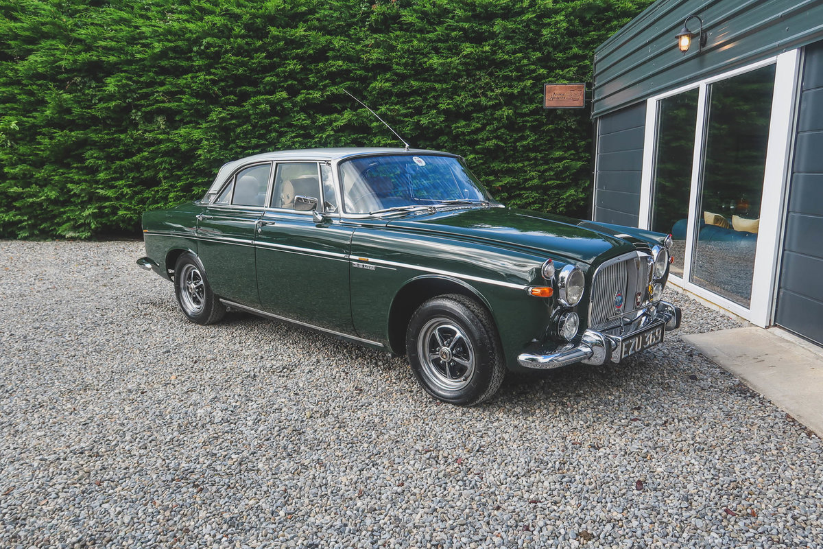 1969 Beautiful Rover P5B Coupe For Sale (picture 1 of 6)