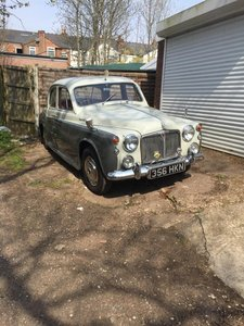 Picture of 1959 Beautiful Rover P4 100 2.6