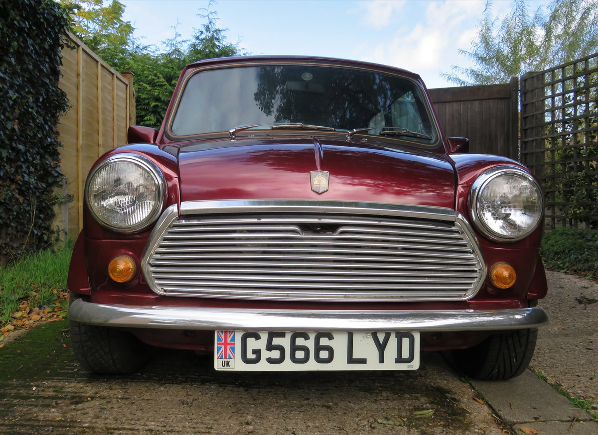 1990 Rover Mini 30 SOLD (picture 1 of 6)