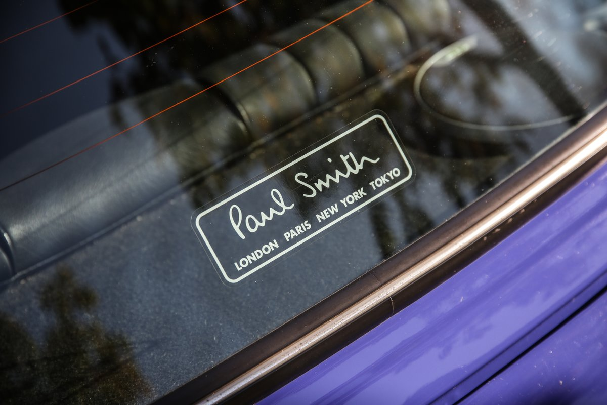 1999 Rover Mini Paul Smith Limited Edition For Sale (picture 16 of 19)