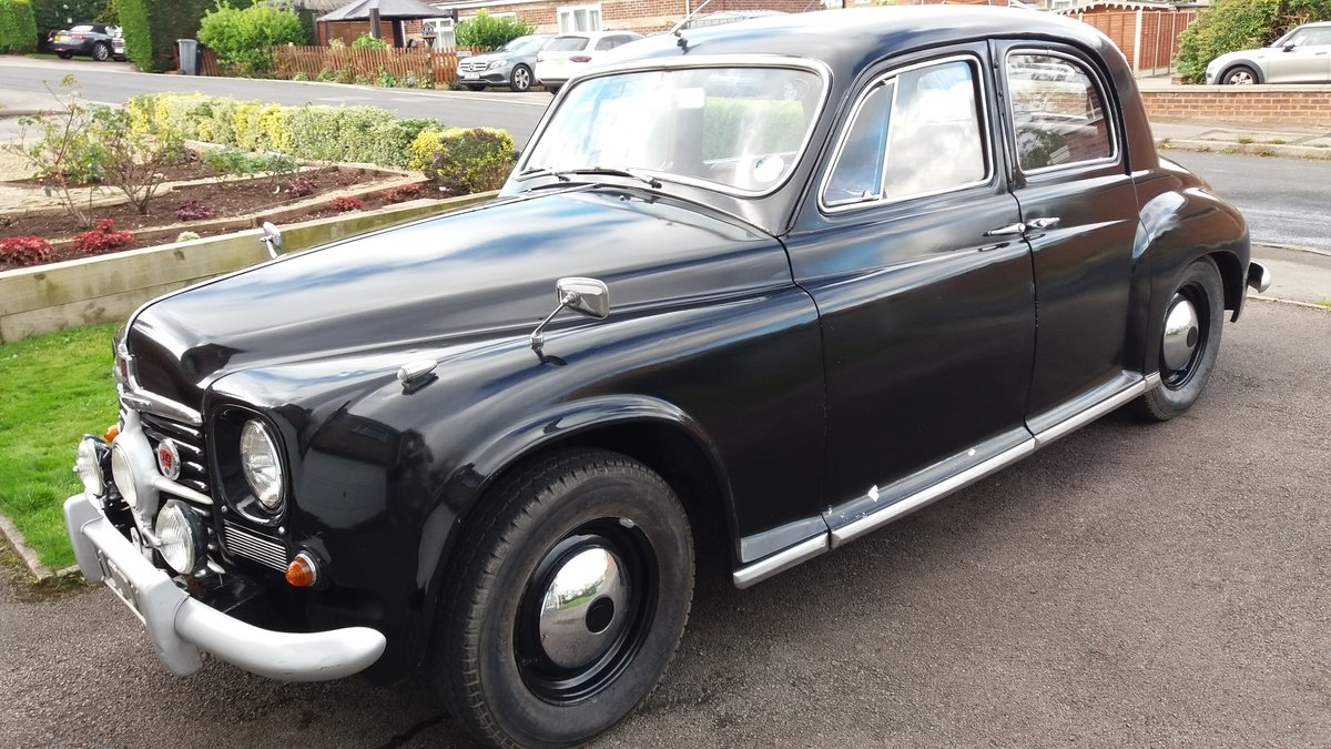 1951 Rover P4 75 Cyclops (2 recorded keepers from new) For Sale (picture 1 of 6)