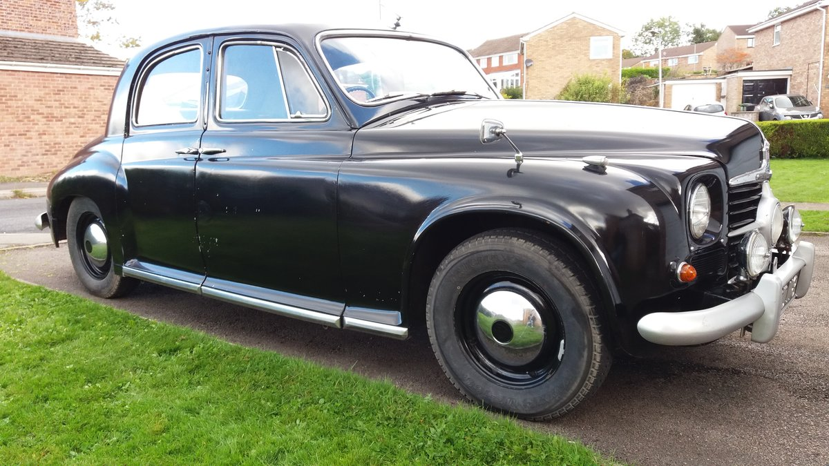 1951 Rover P4 75 Cyclops (2 recorded keepers from new) For Sale (picture 2 of 6)