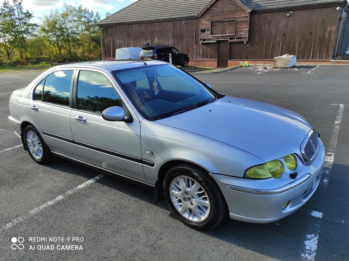 2003 Rover 45 1.6. 99,747 miles. New MOT For Sale (picture 1 of 6)