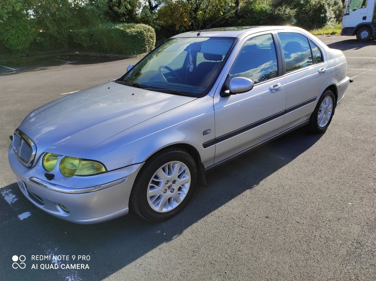 2003 Rover 45 1.6. 99,747 miles. New MOT For Sale (picture 2 of 6)