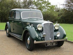 Picture of 1947 Rover P2 Six Light Saloon at ACA 7th November  For Sale by Auction