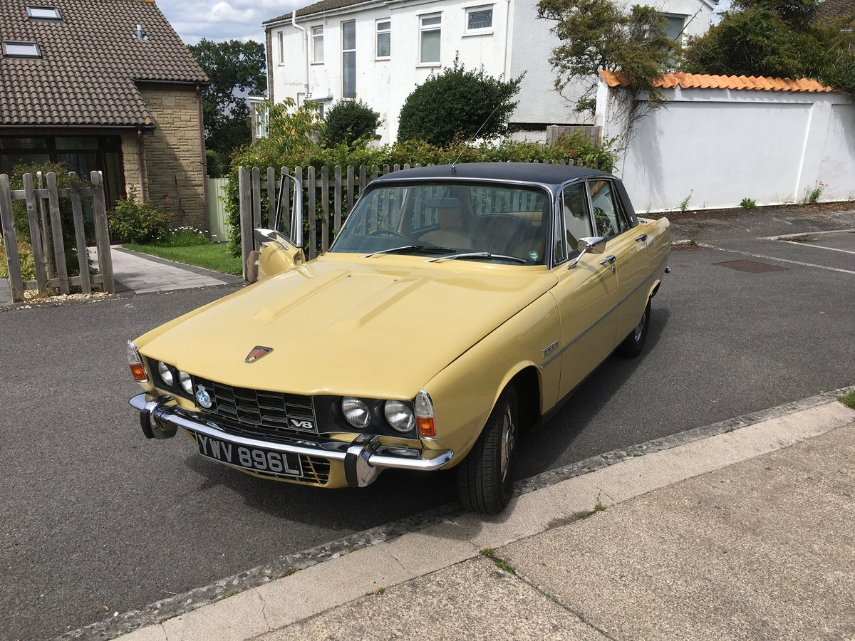 1972 Rover P6 3500 auto/ Power steering  For Sale (picture 6 of 6)