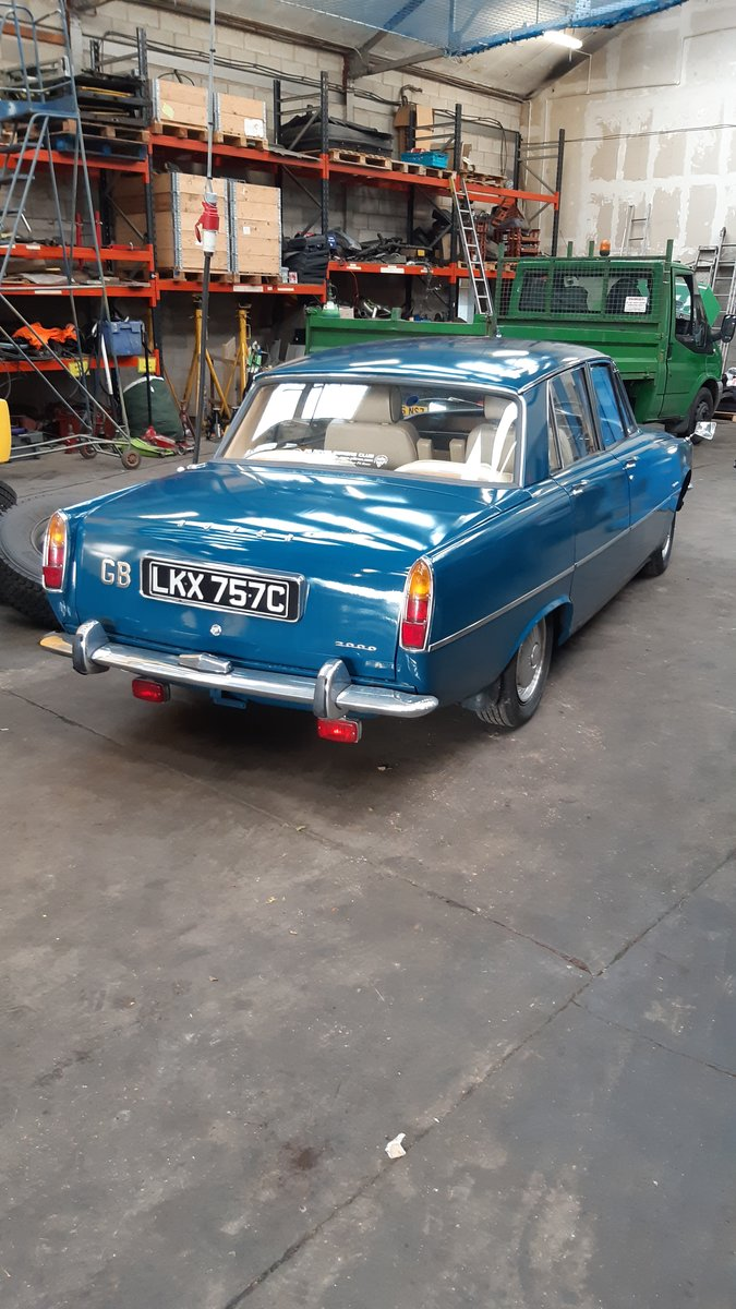 1965 P6 Rover 2000 For Sale (picture 2 of 6)