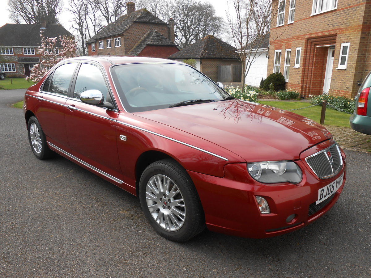2005 ROVER 75 Connoisseur SE 1.8 Manual 39000 For Sale (picture 1 of 6)