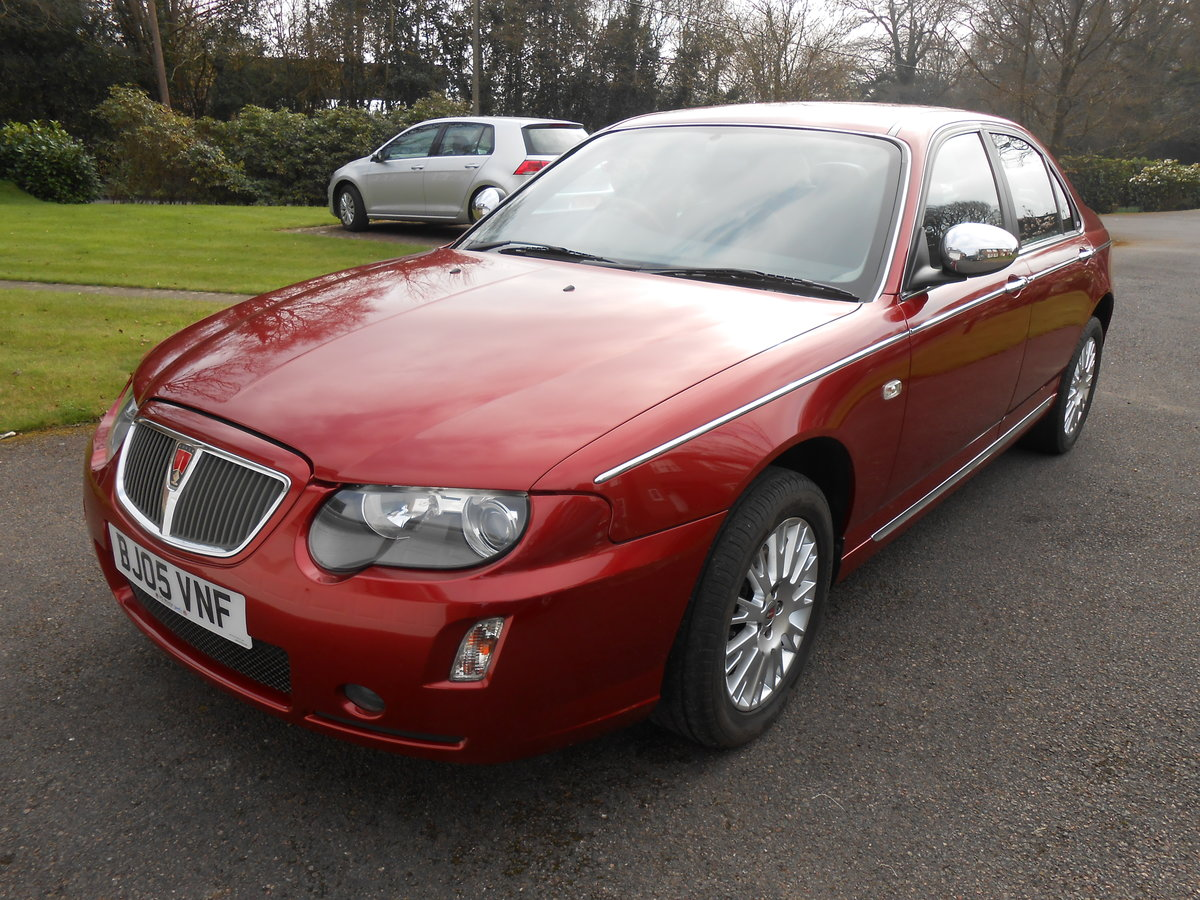 2005 ROVER 75 Connoisseur SE 1.8 Manual 39000 For Sale (picture 2 of 6)