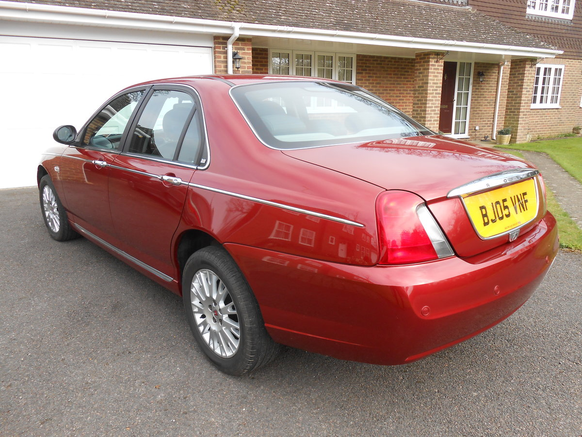 2005 ROVER 75 Connoisseur SE 1.8 Manual 39000 For Sale (picture 3 of 6)