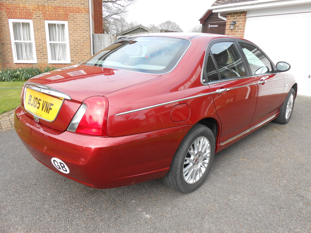 2005 ROVER 75 Connoisseur SE 1.8 Manual 39000 For Sale (picture 4 of 6)