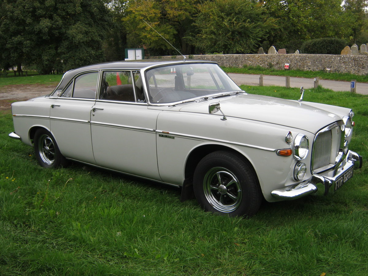 1970 ROVER P5b COUPE 3.5 V8 AUTO. OWNED FOR 44 YEARS SOLD (picture 1 of 6)