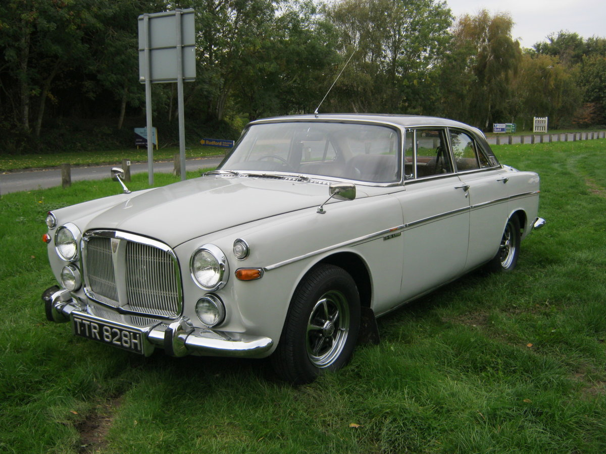 1970 ROVER P5b COUPE 3.5 V8 AUTO. OWNED FOR 44 YEARS SOLD (picture 3 of 6)