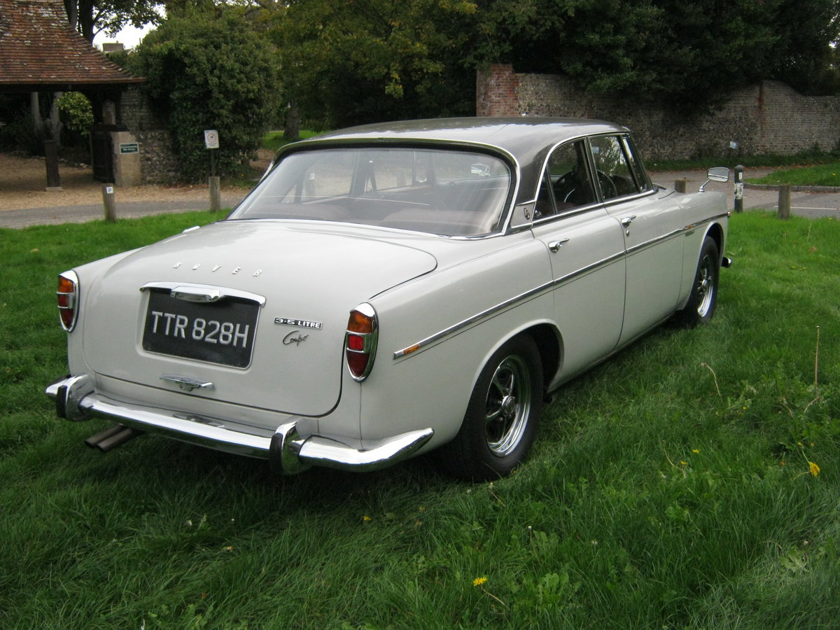 1970 ROVER P5b COUPE 3.5 V8 AUTO. OWNED FOR 44 YEARS SOLD (picture 4 of 6)