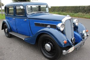 Picture of 1937 Rover 10HP 6 Light Four Door Saloon with Sliding Roofi For Sale
