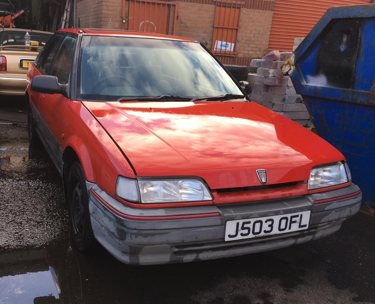 1992 Rover 216GSi Auto with Honda D-series 1.6 petrol engine For Sale (picture 1 of 6)