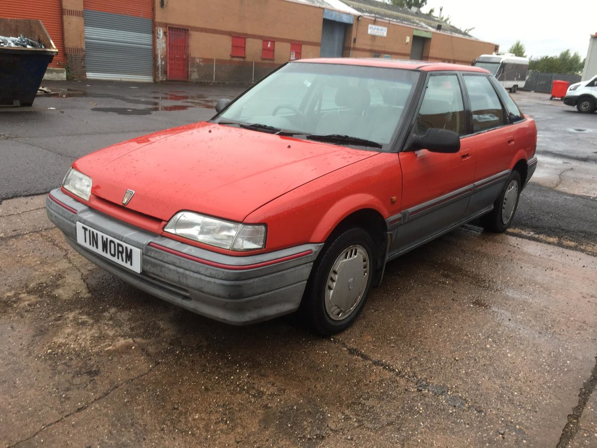 1992 Rover 216GSi Auto with Honda D-series 1.6 petrol engine For Sale (picture 2 of 6)