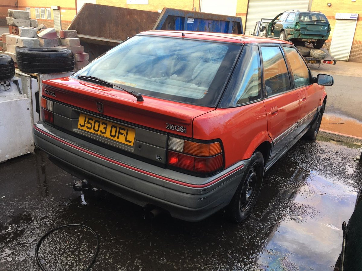 1992 Rover 216GSi Auto with Honda D-series 1.6 petrol engine For Sale (picture 3 of 6)