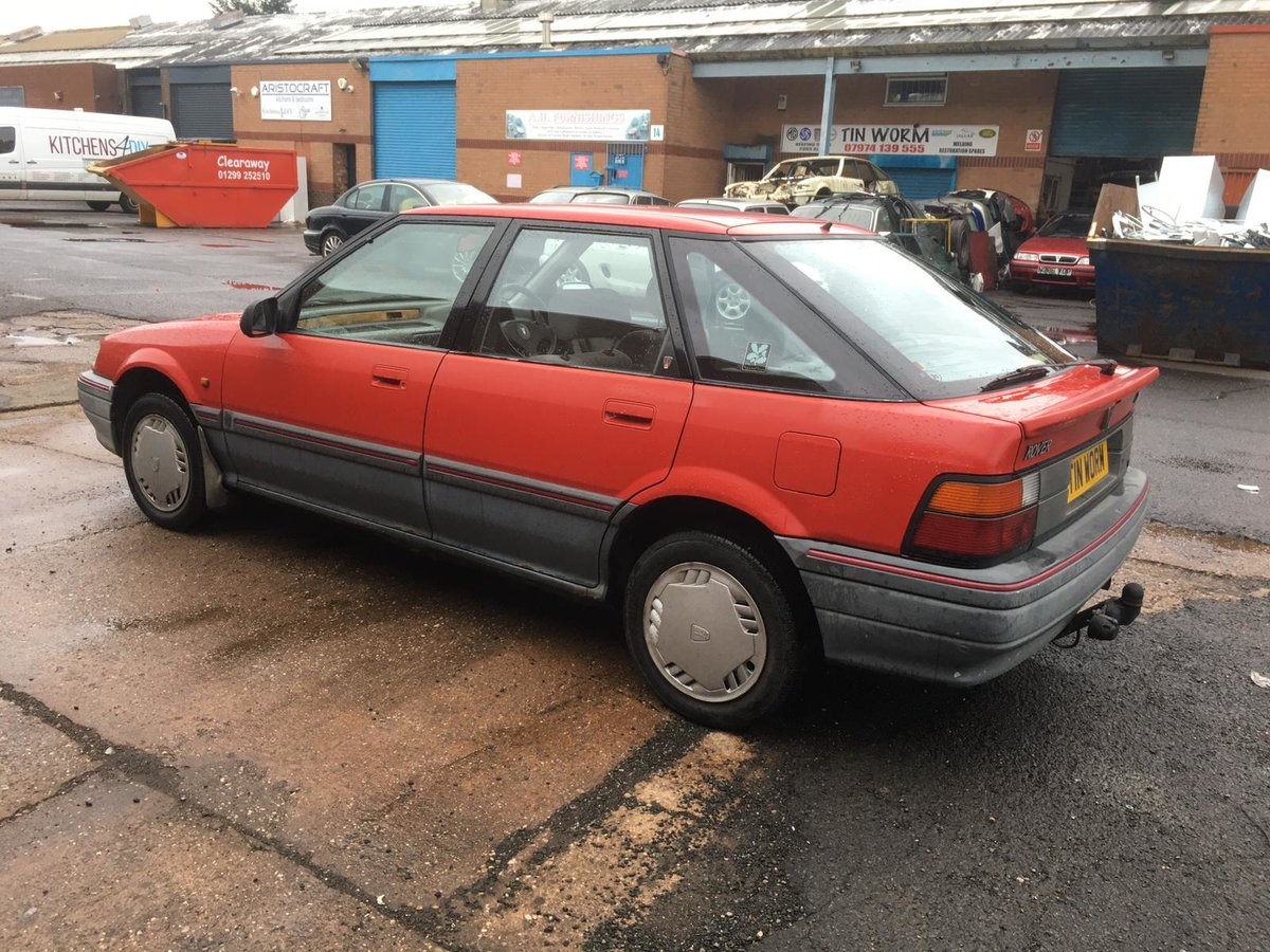 1992 Rover 216GSi Auto with Honda D-series 1.6 petrol engine For Sale (picture 4 of 6)