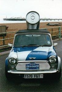 Classic Mini Cooper 1.3i ex redbull pickup cabrio