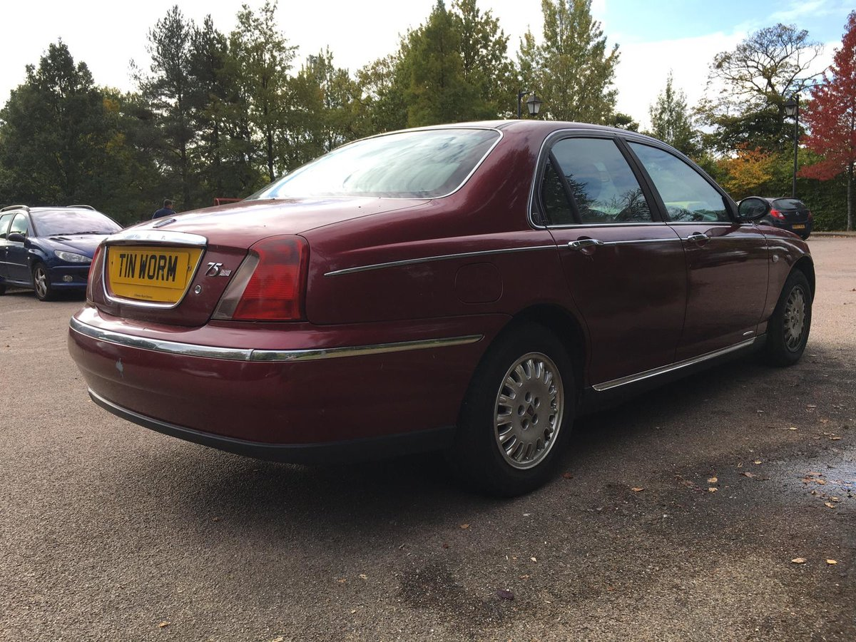 1999 Rover 75 Diesel Club Saloon Manual Gearbox For Sale (picture 4 of 6)