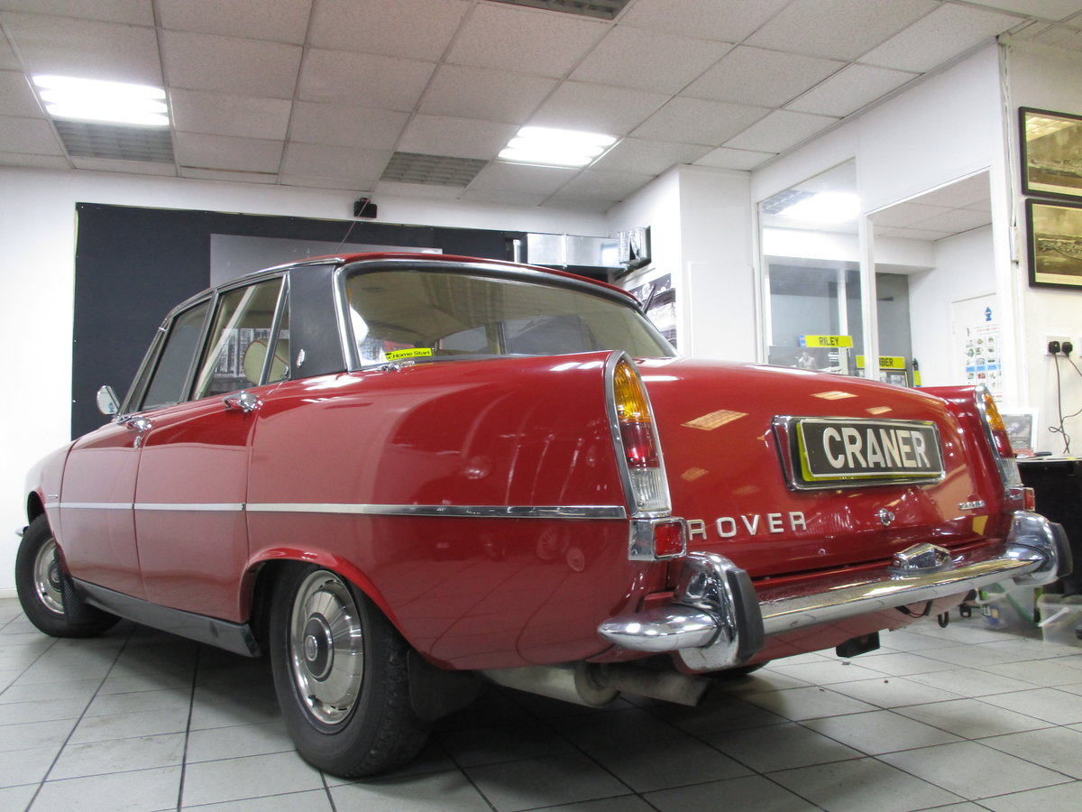 1971 Rover P6 2200cc SOLD (picture 1 of 6)