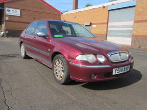 Picture of 2001 Rover 45 Connoisseur diesel saloon For Sale