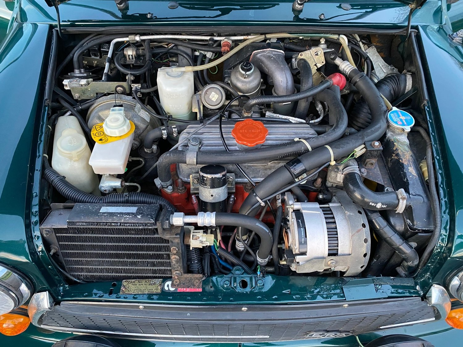 1992 ROVER MINI ERA TURBO VERY RARE VEHICLE * ONE OF ONLY 436 * For Sale (picture 6 of 6)