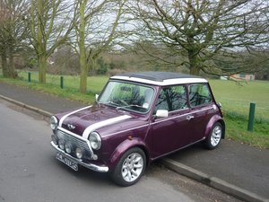 Mini Cooper 1.3 MPI Sports in Morello Cherry Red