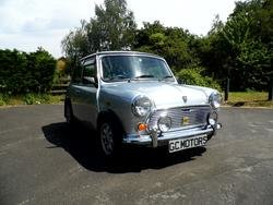 1991 ROVER MINI MAYFAIR IN SILVER ONLY 3,000 MILES FROM NEW For Sale (picture 1 of 6)