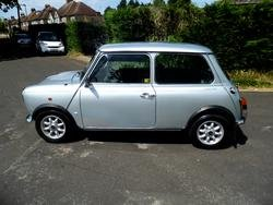 1991 ROVER MINI MAYFAIR IN SILVER ONLY 3,000 MILES FROM NEW For Sale (picture 3 of 6)
