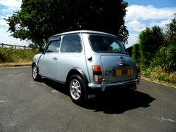 1991 ROVER MINI MAYFAIR IN SILVER ONLY 3,000 MILES FROM NEW For Sale (picture 4 of 6)