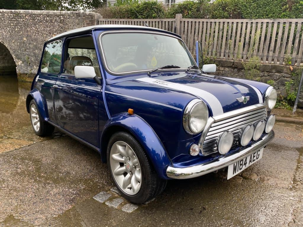 Stunning 2000 Mini Cooper Sportspack with 8,000 miles For Sale (picture 1 of 5)