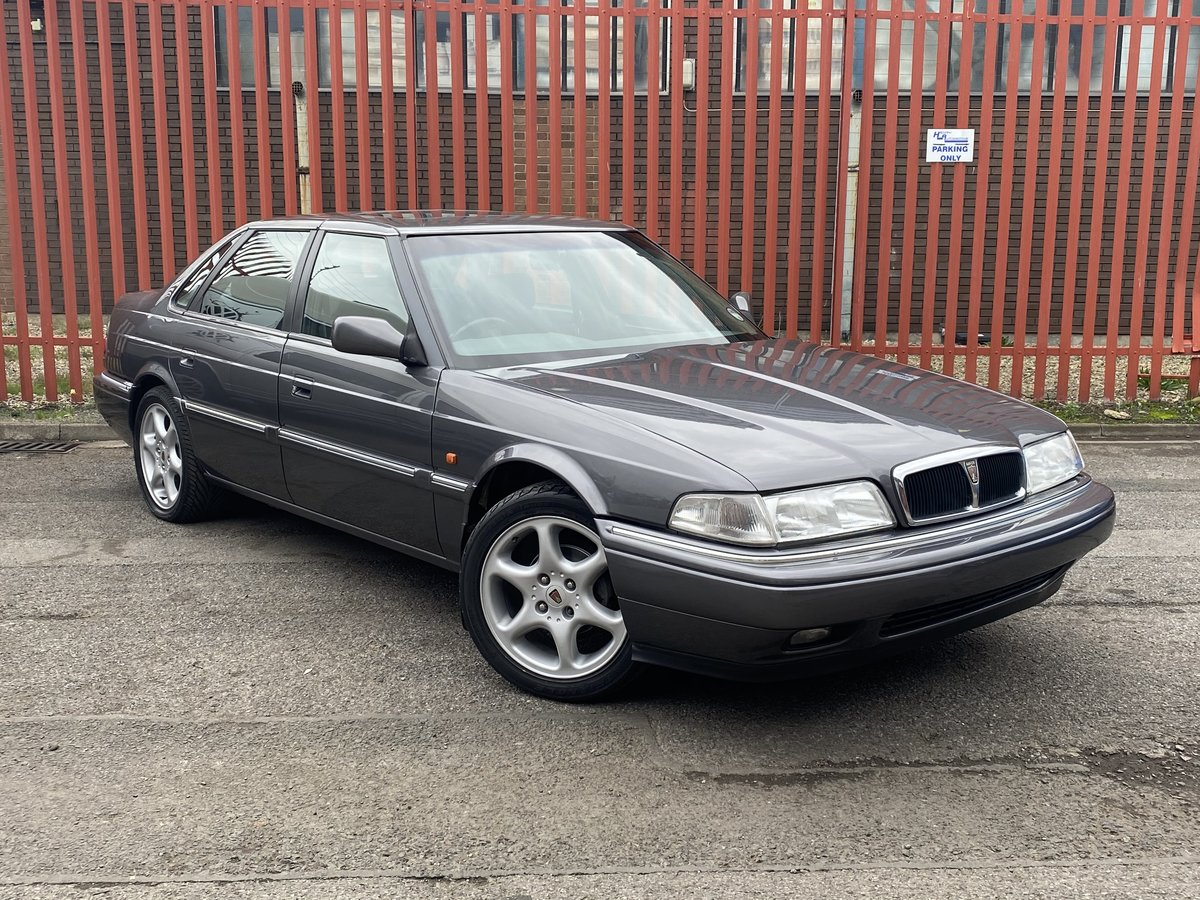 1996 ROVER 2.0 VITESSE TURBO - LOW MILEAGE, RARE CAR For Sale (picture 1 of 6)