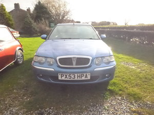 Picture of ROVER 45 2003 DIESEL. GOOD RUNAROUND