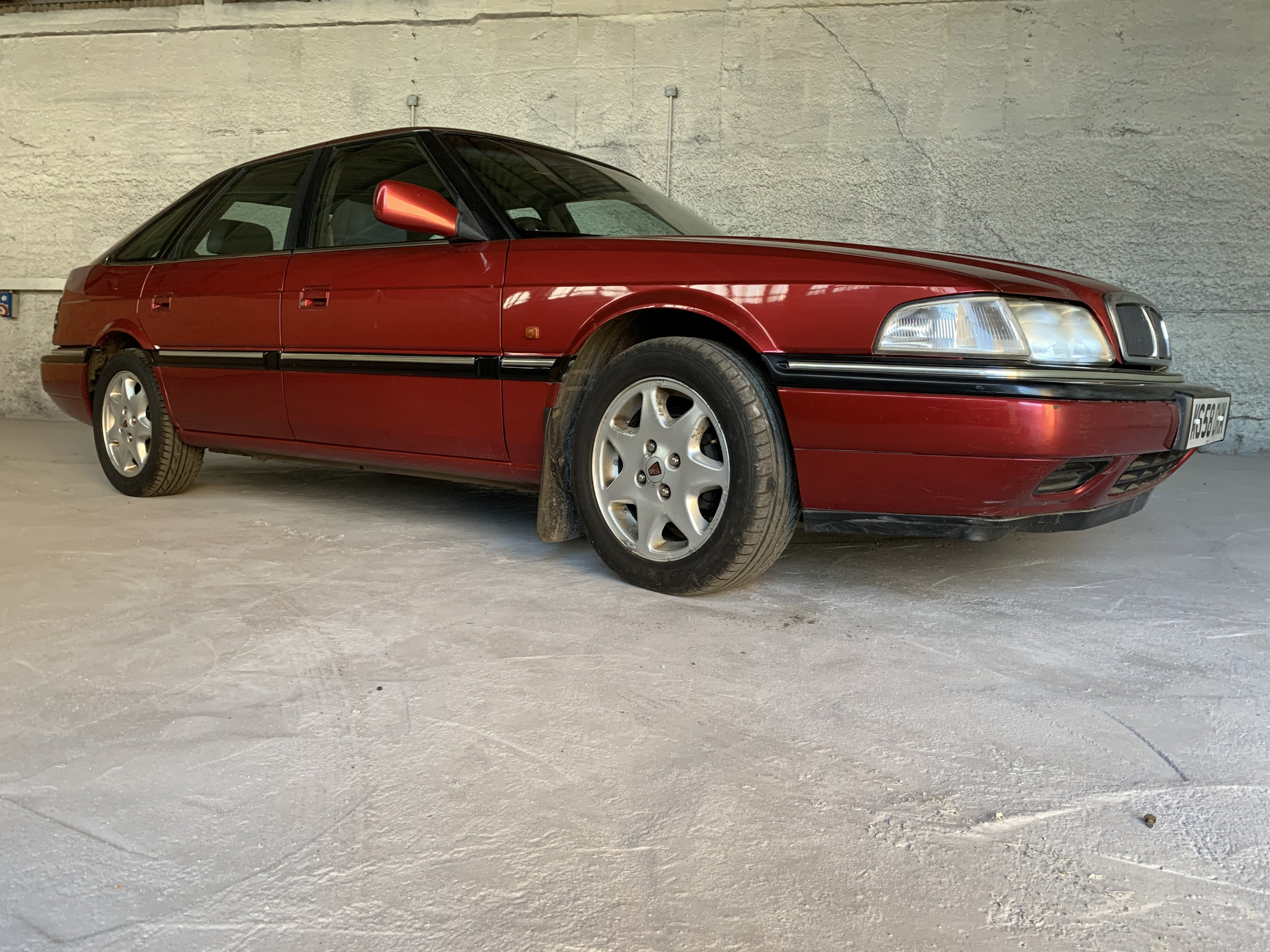 Picture of 1995 Rover 800 nightfire RED fast back