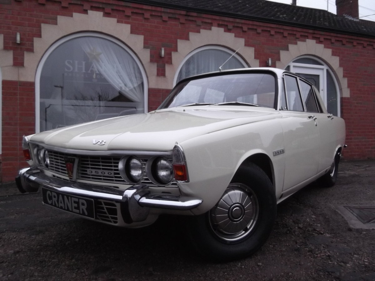 1969 Rover P6 3.5 For Sale (picture 1 of 6)