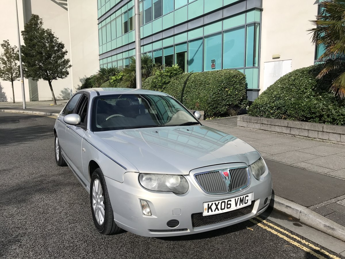 2006 (06) Rover 75 CDTi CLUB Diesel Manual 1 Previous Owner For Sale (picture 1 of 8)