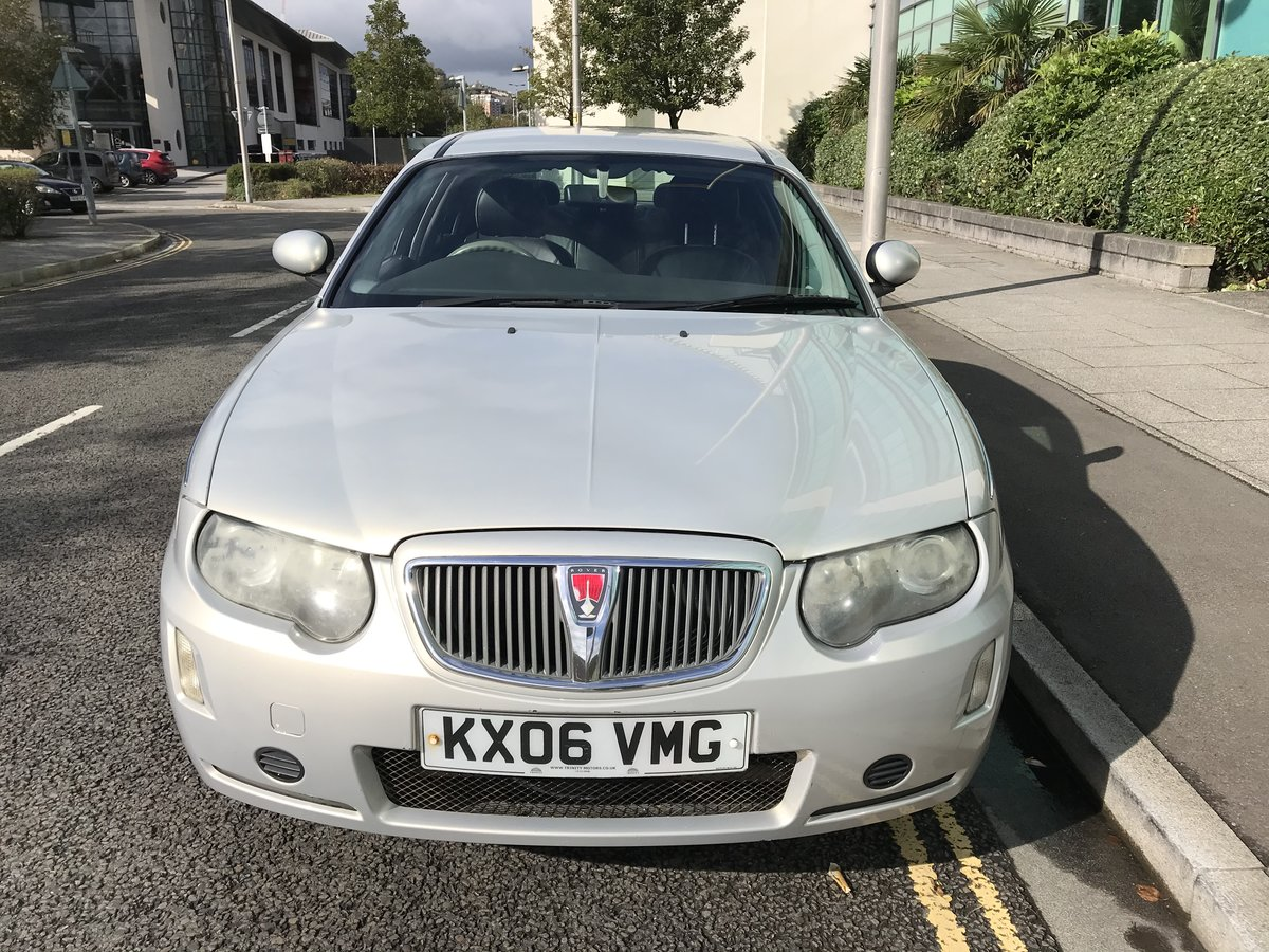 2006 (06) Rover 75 CDTi CLUB Diesel Manual 1 Previous Owner For Sale (picture 2 of 8)