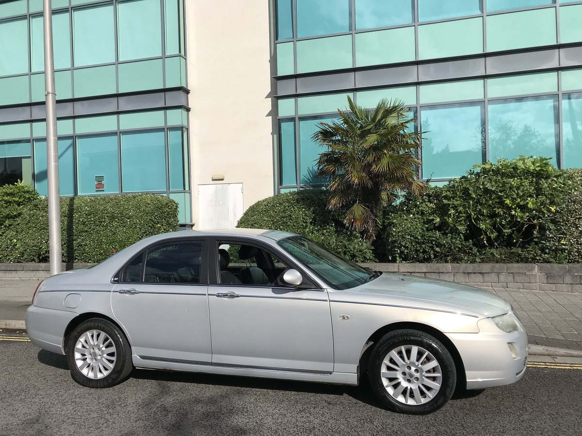 2006 (06) Rover 75 CDTi CLUB Diesel Manual 1 Previous Owner For Sale (picture 3 of 8)