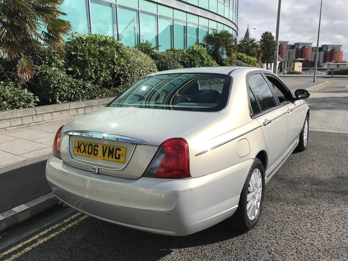 2006 (06) Rover 75 CDTi CLUB Diesel Manual 1 Previous Owner For Sale (picture 4 of 8)