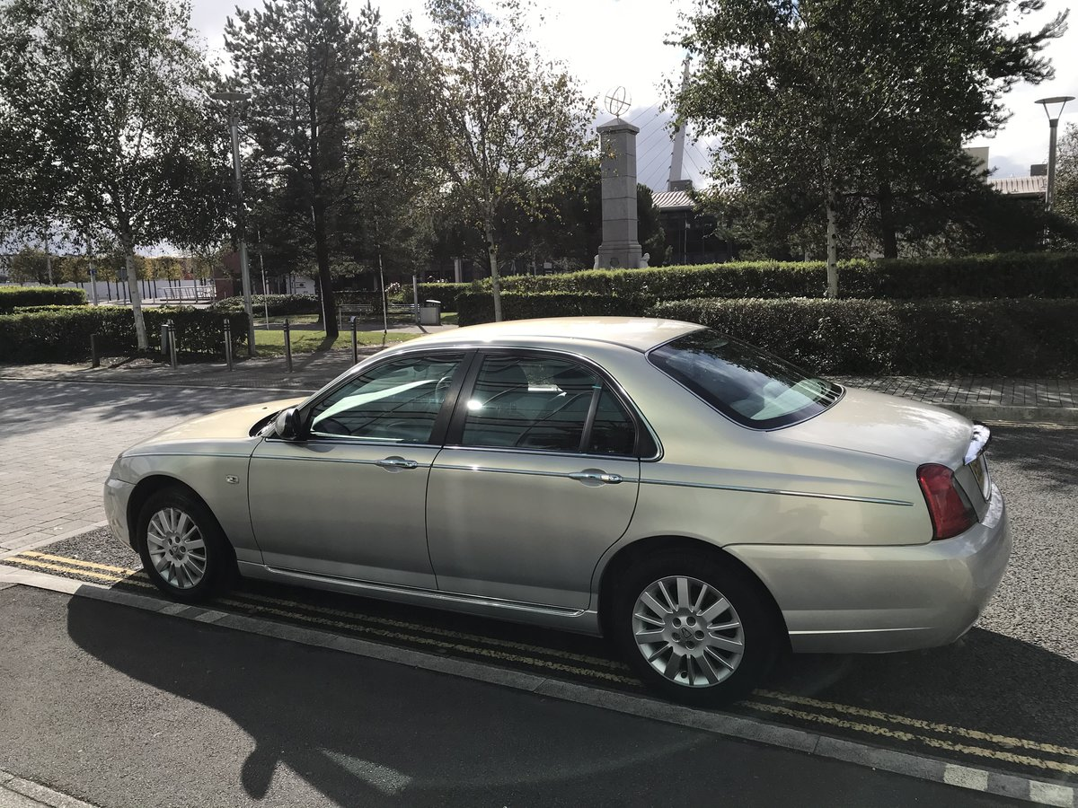 2006 (06) Rover 75 CDTi CLUB Diesel Manual 1 Previous Owner For Sale (picture 5 of 8)