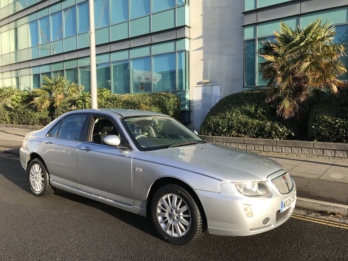 2006 ROVER 75 2.0 CDTI CLUB 1 OWNER FROM NEW 65k MILES For Sale (picture 1 of 10)