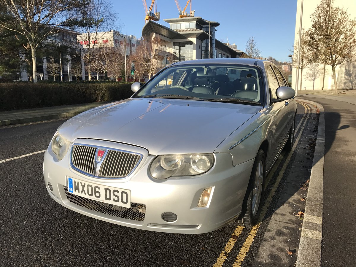 2006 ROVER 75 2.0 CDTI CLUB 1 OWNER FROM NEW 65k MILES For Sale (picture 2 of 10)